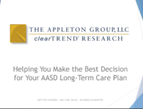 AASD Long-Term Care Insurance Termination Seminar – VIDEO LINK